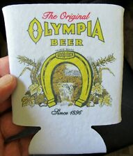 Olympia Beer Can/Bottle Holder Koozie! Coozie Check It Out!