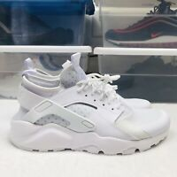 Nike Air Huarache Run Ultra Triple White (819685-101) Men's Size 10.5 New