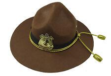 Adult Super State Trooper Highway Patrol Mountie Campaign Ranger Costume Hat