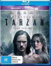 The Legend Of Tarzan (Blu-ray, 2016) NEW