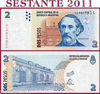 ARGENTINA - 2 PESOS 2002 - Serie L - Sign DEL PONT - FELLNER - P 352 - FDS / UNC