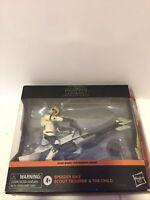 Star Wars Black Series Mandalorian Scout Trooper w/Speeder Bike