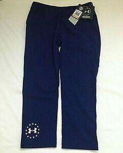 $35 Under Armour 1285127-294 Women's Freedom Training Capri Leggings, SM/CH, NWT