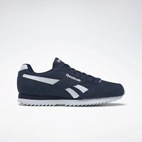 Reebok Men's Classics Royal Glide Ripple in Navy and White Trainers
