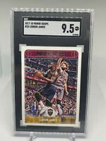 2017 Panini Hoops LeBron James #25 Graded Card SGC 9.5- Cavaliers Lakers