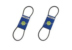 2 Pack Cogged Wheel Drive Belt Fits Toro 120-3893 724OE 726 OE 826OE