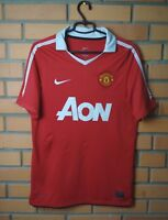 Manchester United Jersey 2010 2011 Home SMALL Shirt Soccer Nike Football Trikot