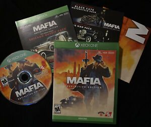 Mafia Definitive Edition (Xbox One, 2020) Tested With Poster And Inserts