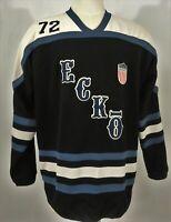 ECKO Unltd Vintage Jockey International Sweater Pullover Men's Blue Size L