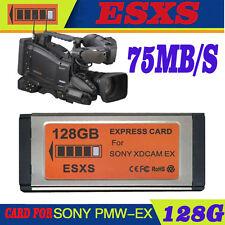 ESXS SXS 128GB XDCAM EX Express Card Replace SONY SBS-128GB  EX1R/EX3R/EX280