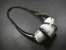 N5021 FASHION LONG Bold Tribal Horn Massive Statement NECKLACE TIBETAN Jewelry