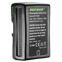 Neewer 10400mAh V Mount Li-ion Battery for Sony PMW-EX330K EX330L 580K 580L
