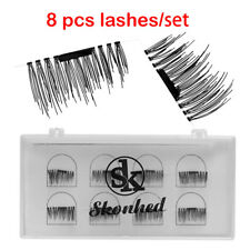8PCS/lot Longlasting Magnetic False Eyelashes Ultra Mink Lashes Beauty Lashes