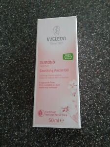 WELEDA ALMOND SOOTHING FACIAL OIL FOR SENSITIVE SKIN  50ML NEW & UNOPENED