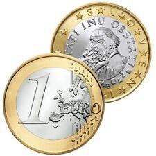 Pièces euro de la Slovénie pour 1 euro