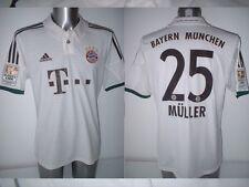 Bayern Munich Shirt Muller Jersey Trikot Adidas Large Football Soccer Munchen