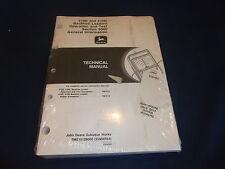 JOHN DEERE 410D 510D LOADER BACKHOE TECHNICAL SERVICE SHOP OP TEST MANUAL TM1512