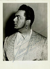 FERRUCIO TAGLIAVINI opera tenor signed photo as Nadir in the Peal Fishers