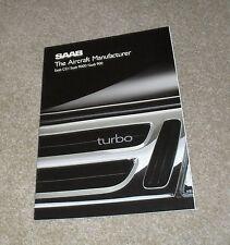 Saab Brochure 1988 - CD 9000 900