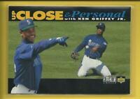 Ken Griffey Jr 1994 Collector's Choice Up Close & Personal Card Mariners MLB HOF