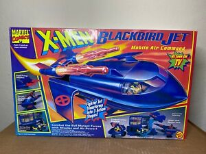 MARVEL COMICS : X-MEN BLACKBIRD MOBLE COMMAND JET PLAYSET TOYBIZ 1994 NEW/SEALED