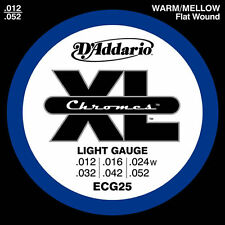 D'ADDARIO ECG25 - MUTA CORDE Light PER ELETTRICA (012-052)