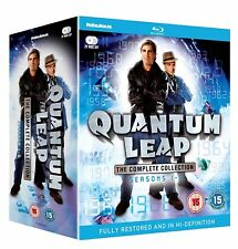 QUANTUM LEAP 1-5 (1989-1993): COMPLETE TV Series Season NEW UK REGION B BLU-RAY