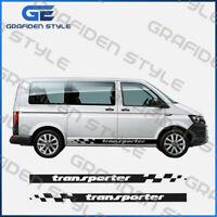 VW T4 T5 T6 BUS Seitenstreifen Satz TRANSPORTER Aaufkleber - L 200cm !!!!