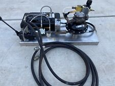 Enerpac Turbo Ii Air Hydraulic Pump With Teledyne Sprague Air Driven Pum