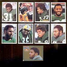 1981 Green Bay Packers Sticker Set JAMES LOFTON LYNN DICKEY PAUL COFFMAN AP Foil