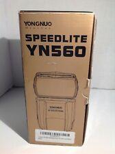 YONGNUO Speedlite YN-560 Shoe Mount Flash for Canon / Nikon. Brand NEW See pics.