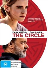 The Circle DVD NEW Tom Hanks Emma Watson Region 4