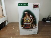 Dept 56 DICKENS VILLAGE SWIFT'S STRINGED INSTRUMENTS 58753