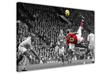 WAYNE ROONEY MANCHESTER UNITED FOOTBALL PRINTS CANVAS WALL ART PICTURES POSTER