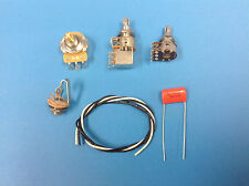 JAZZ BASS WIRING KIT WITH BLEND AND SERIES PARALLEL SWITCH  FATTEN UP YOUR TONE!