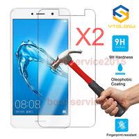 2x 9H Tempered Glass Screen Protector For Huawei Y3 Y5 Y6 Y7/ Y7 prime 2017