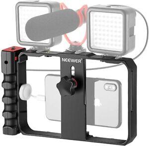Neewer Smartphone Camera Stabilizer Video Rig, Filmmaking Case, Phone Video