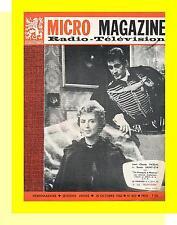 MICRO MAGAZINE 812 (30/10/60) JEAN CLAUDE PASCAL