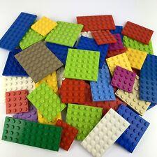 LEGO 30x Platten Bauplatten gemischt verschiedene Farben und Größen Bunt