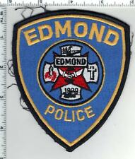 Edmond Police (Oklahoma) Uniform Take-Off Shoulder Patch from the 1980's
