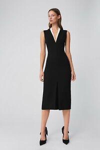 Victoria Beckham Bonded Crepe Black Women's Dress UK Size 8 - SUPER SALE!!