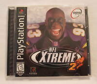 NFL Xtreme 2 (PlayStation PS1) Black Label Complete Nr Mint!