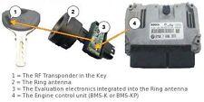 BMW S1000RR R1200GS K1300R R1200R - ECU CDI locks keys