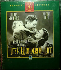 It's a Wonderful Life (VHS/CD Delux Box Set, 50th Anniversary Edition) NEW