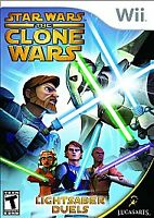 Star Wars: The Clone Wars - Lightsaber Duels (Nintendo Wii, 2008) Used game