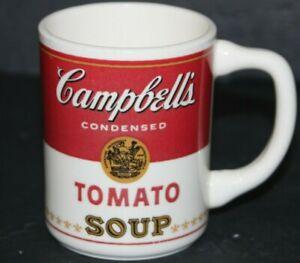 Vintage 50's  Mid Century CAMBELLS TOMATO SOUP, Ceramic,Coffee Cup Mug, USA