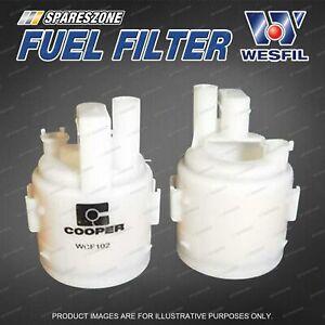 Wesfil Fuel Filter for Nissan X-Trail T30 Pulsar N16 1.6 1.8 2.5 Refer Z678