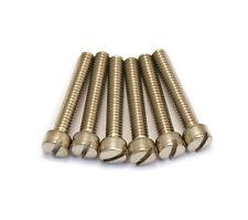 (6) Nickel Pole Piece Screws for Gibson® PAF & USA Humbucker Pickup GS-5453-001