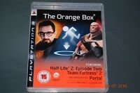 The Orange Box PS3 Playstation 3 Half Life 2 & Portal **FREE UK POSTAGE**