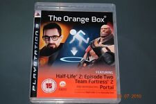 The orange box PS3 Playstation 3 half life 2 & portail ** free uk livraison **